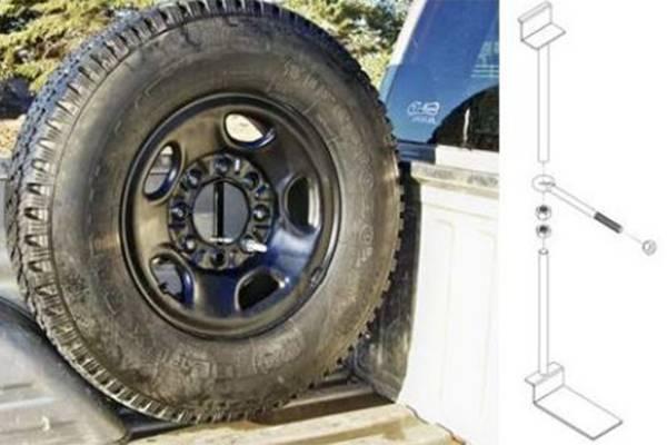 Titan Fuel Tanks - Titan Fuel Tanks TITAN Spare Tire Buddy 9901330