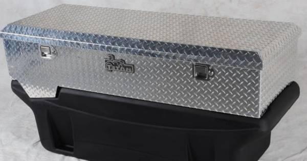 Titan Fuel Tanks - Titan Fuel Tanks BRIGHT ALUMINUM Toolbox for 5410060/5310060 Tank 9991150
