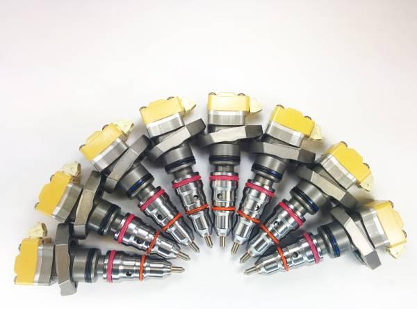 Dynomite Diesel - Dynomite Diesel Ford 94-03 7.3L Stage 4 CUSTOM Injector Set Dynomite Diesel DDP.BD-4