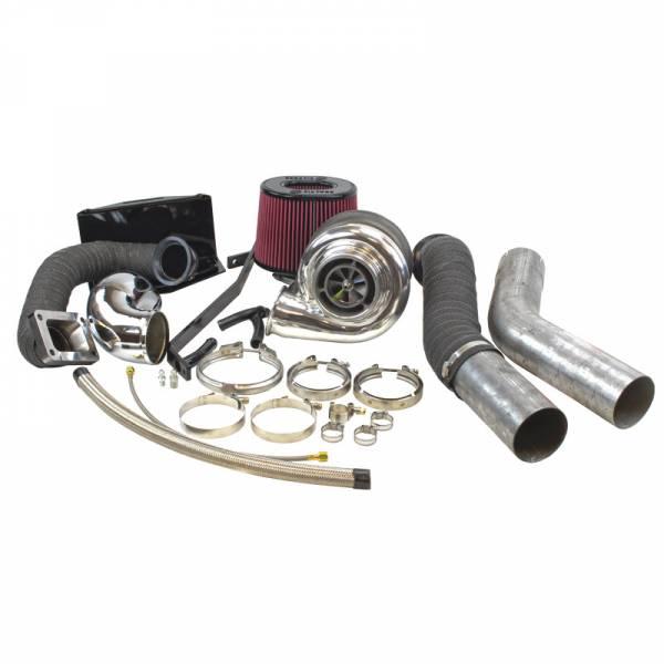 Industrial Injection - Dodge Cummins 2nd Gen Compound Phatshaft Add-A-Turbo Kit (1994-2002)