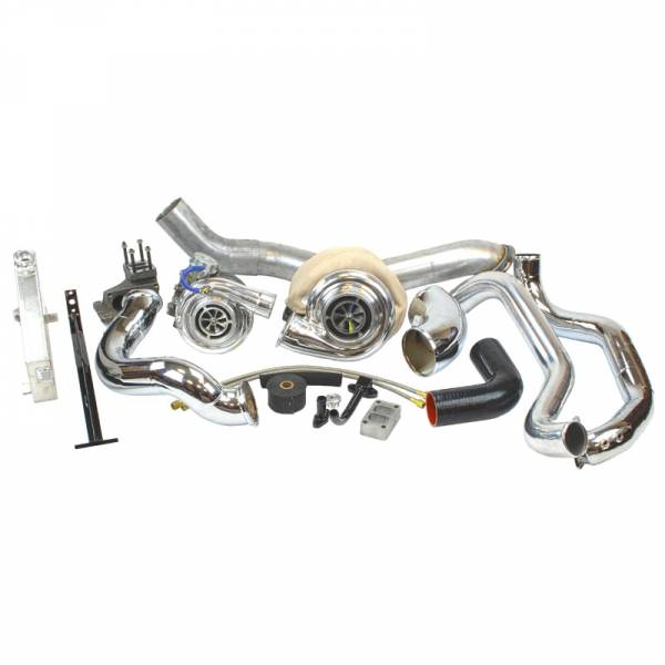 Industrial Injection - LMM Duramax Race Compound Turbo Kit (2007.5-2010)