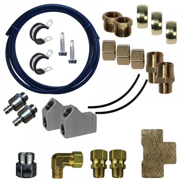 FASS Fuel Systems - FASS FLK-S06 Double Vent Return Line Kit
