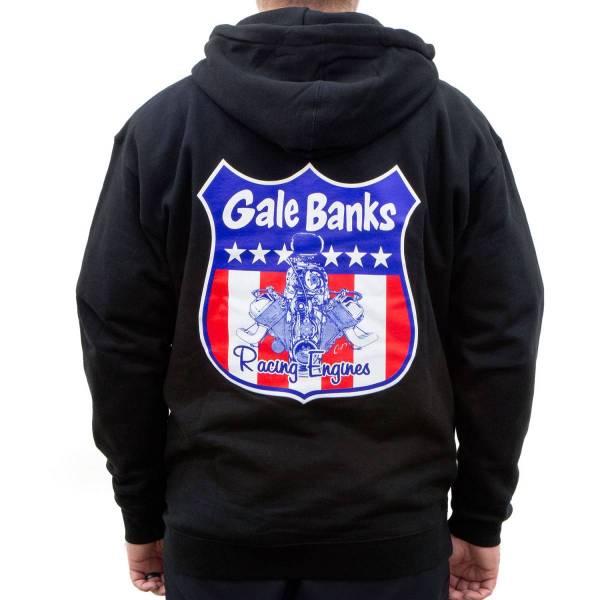 Banks Power - Banks Power Hoodie Large Gale Banks Racing Engines Zip Hoodie 97402-Large