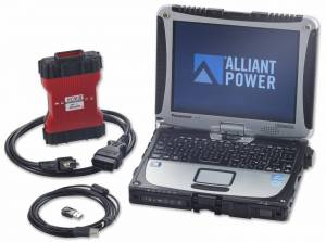 1999-2003 Ford 7.3L Powerstroke - Tools - Alliant Power - Alliant Power AP0103 Diagnostic Tool Kit Dell - Ford