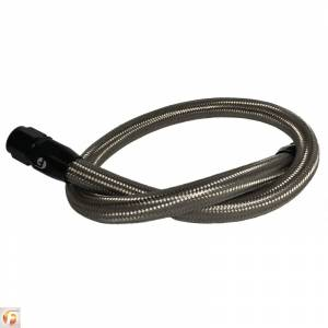 Shop By Part - Cooling System - Fleece Performance - Fleece Performance 34.5 Inch Common Rail/VP44 Cummins Coolant Bypass Hose Stainless Steel Braided Fleece Performance FPE-CLNTBYPS-HS-CRVP-SS