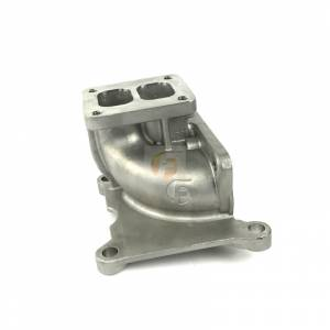 Turbo Chargers & Components - Turbo Charger Accessories - Fleece Performance - Fleece Performance 4.4 Inch Stainless Steel T4 Duramax Turbo Pedestal without Wastegate Fleece Performance FPE-34226
