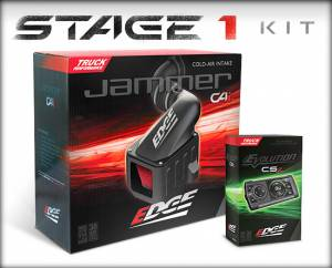 Air Intakes & Accessories - Air Intakes - Edge Products - Edge Products Jammer Cold Air Intakes 19000