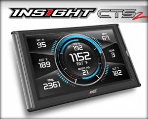 2007.5-2010 GM 6.6L LMM Duramax - Programmers & Tuners - Edge Products - Edge Products Insight CTS2 Monitor 84130