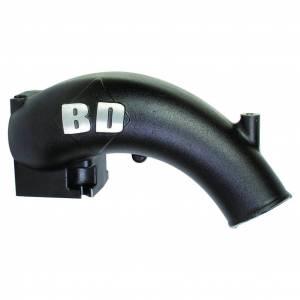 Engine Parts - Parts & Accessories - BD Diesel - BD Diesel X-Flow Power Intake Elbow (Black) - Dodge 1998-2002 5.9L 24-valve 1041550