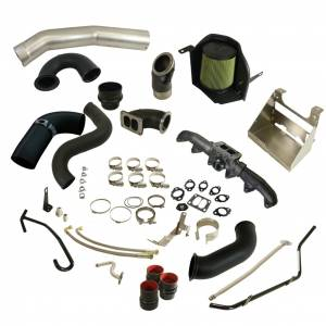 Turbo Chargers & Components - Turbo Charger Kits - BD Diesel - BD Diesel BD Cummins 5.9L/6.7L Cobra Turbo Install Kit w/S400 Secondary Dodge 2003-2009 1045760