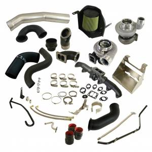 Turbo Chargers & Components - Turbo Charger Kits - BD Diesel - BD Diesel BD Cummins 5.9L Cobra Twin Turbo Kit S361SX-E / S476SX-E - Dodge 2003-2007 5.9L 1045780