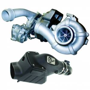 Turbo Chargers & Components - Turbo Chargers - BD Diesel - BD Diesel Screamer V2S Twin Turbo - Ford 6.4L 2008-2010 c/w Air Intake Kit 1047080
