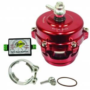 Turbo Chargers & Components - Blow Off Valves - BD Diesel - BD Diesel Turbo Guard Kit - Aluminum Adapter / Red Valve 1047250AR