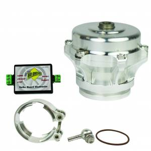 Turbo Chargers & Components - Blow Off Valves - BD Diesel - BD Diesel Turbo Guard Kit - Steel Adapter / Silver Valve 1047250SS