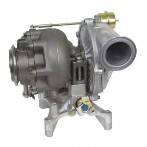 Turbo Chargers & Components - Turbo Chargers - BD Diesel - BD Diesel Exchange Turbo - Ford 1998.5-1999.5 7.3L GTP38 Pick-up c/w Pedestal 702650-9005-B
