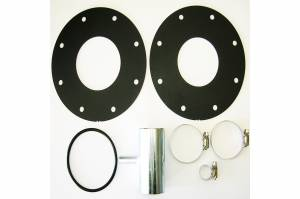 Fuel System & Components - Fuel System Parts - Titan Fuel Tanks - Titan Fuel Tanks LB7 KIT for Spare Tire Auxiliary Fuel System 0101310