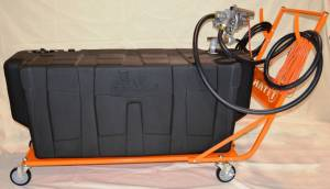 Bed Accessories - Transfer Tanks & Tool Boxes - Titan Fuel Tanks - Titan Fuel Tanks AC Fuel Caddy 100 Gallon 6000003
