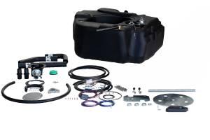 Titan Fuel Tanks - Titan Fuel Tanks Spare Tire Auxiliary Fuel System 30 Gallon 4030203
