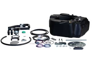 Fuel System & Components - Fuel System Parts - Titan Fuel Tanks - Titan Fuel Tanks Spare Tire Auxiliary Fuel System 30 Gallon 4010211
