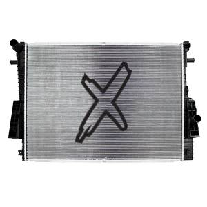 2008-2010 Ford 6.4L Powerstroke - Cooling System - XDP Xtreme Diesel Performance - XDP Xtreme Diesel Performance Replacement Secondary Radiator 11-16 Ford 6.4L Powerstroke 2 Row X-TRA Cool Direct-Fit XD290 XDP XD290