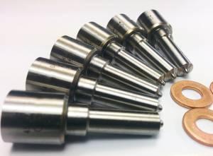 Dynomite Diesel - Dynomite Diesel Dodge 04.5-07 Injector Nozzle Set Custom with Balancing Dynomite Diesel DDP.325-CUSTNZ