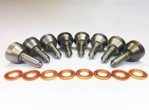 Dynomite Diesel - Dynomite Diesel Ford 99-03 7.3L CUSTOM Nozzle Set Dynomite Diesel DDP.9903.NZ-3 - Image 2