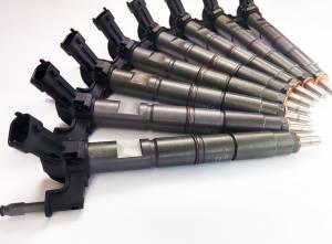 Fuel System & Components - Fuel Injectors & Parts - Dynomite Diesel - Dynomite Diesel Duramax 11-16 LML Reman Injector Set 30 Percent Over Dynomite Diesel DDP.LML-75