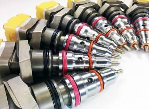 Dynomite Diesel - Dynomite Diesel Ford 99-03 7.3L Stage 1 LONG LEAD Injector Set 15 Percent Over Dynomite Diesel DDP.AE-1 - Image 2