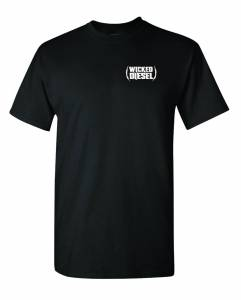 Wicked Apparel - Black Short Sleeve Wicked Diesel T-Shirt