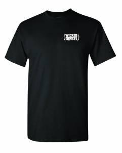 Black Short Sleeve Wicked Diesel T-Shirt