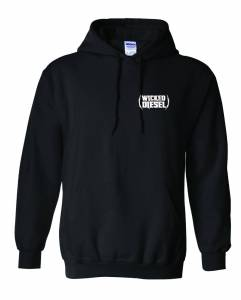 Wicked Apparel - Black Wicked Diesel Hoodie