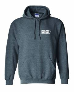 Wicked Apparel - Grey Wicked Diesel Hoodie