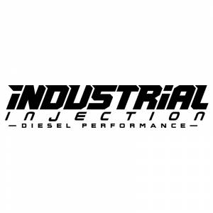 Shop By Part - Gear & Apparel - Industrial Injection - 11 Inch Black Industrial Injection Logo Decal