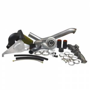 Turbo Chargers & Components - Turbo Charger Kits - Industrial Injection - 2010-2012 Dodge S464 With 1.00 Turbine A/R Turbo Kit (169012)