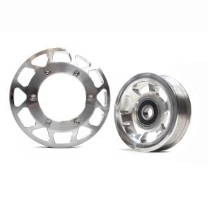 Engine Parts - Parts & Accessories - Industrial Injection - Common Rail Cummins Billet Pulley Kit (03-12)