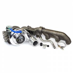 Turbo Chargers & Components - Turbo Chargers - Industrial Injection - Dodge 6.7L 2010-2012 Silver Bullet 66mm Kit