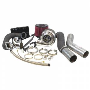 Turbo Chargers & Components - Turbo Charger Kits - Industrial Injection - Dodge Cummins 2nd Gen Compound Phatshaft Add-A-Turbo Kit (1994-2002)