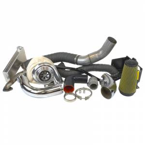 Turbo Chargers & Components - Turbo Charger Kits - Industrial Injection - Duramax 07.5-10 LMM Compound Add-A-Turbo Kit