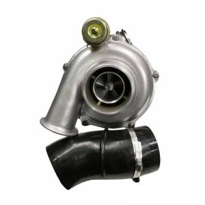 Turbo Chargers & Components - Turbo Chargers - Industrial Injection - Ford 2003-2004 Reman Hybrid Stage 3 Turbo 65mm Comp/Wheel