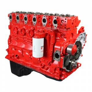 Engine Parts - Engine Assembly - Industrial Injection - Industrial Injection 5.9L Dodge Cummins CR Premium Stock Plus Long Block