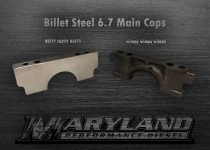 Engine Parts - Parts & Accessories - Maryland Performance Diesel - MPD 11-19 Billet Main Caps