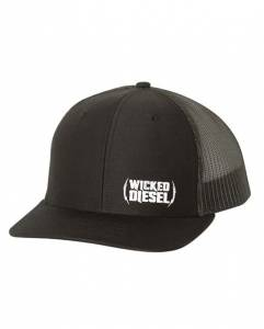 Wicked Apparel - All Black Trucker Hat