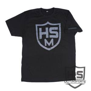 "Shop By Part - Gear & Apparel - H&S Motorsports - H & S ""Shield"" T-Shirt - Black - Size XL"