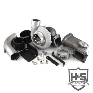 Turbo Chargers & Components - Turbo Charger Kits - H&S Motorsports - H & S 08-10 Ford 6.4L Single Turbo Kit (Made to Order)