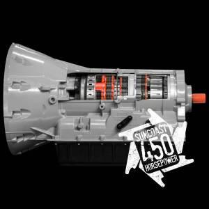 Transmission - Automatic Transmission Assembly - SunCoast Diesel - CATEGORY 1 SUNCOAST 450HP HEAVY DUTY 6R140 TRANSMISSION