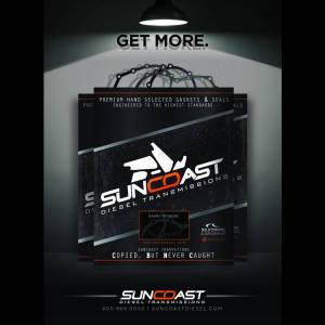 SunCoast Diesel - SUNCOAST 03-UP 5R110 OVERHAUL GASKET AND SEAL KIT