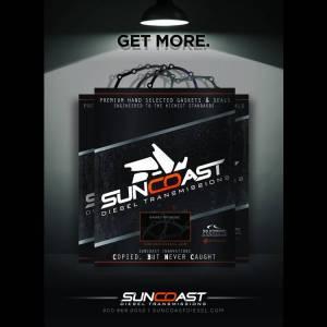 SunCoast Diesel - SUNCOAST E4OD/4R100 GASKET SET