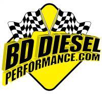 BD Diesel - BD Diesel UpPipes Kit - Ford 2003-2004 6.0L PowerStroke c/w Heat Shield 1043915