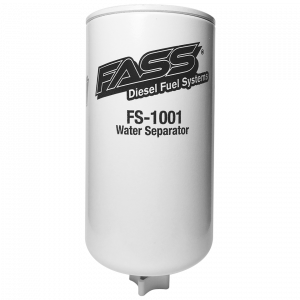 Fuel System & Components - Fuel System Parts - FASS Fuel Systems - FASS FS-1001 Titanium Water Separator (Grey Model)