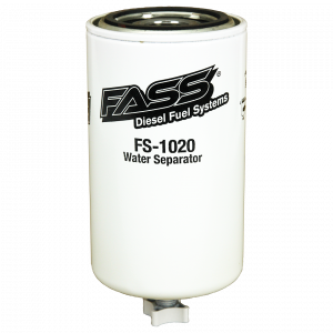 Fuel System & Components - Fuel System Parts - FASS Fuel Systems - FASS FS-1020 Titanium Water Separator-Class 8 (Grey Model)
